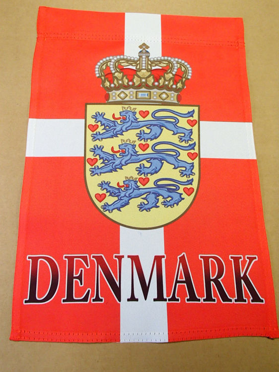 Picture of Danish Garden Flag with crest