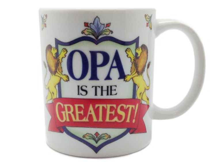 Picture of Opa is the Greatest Mug (shield)