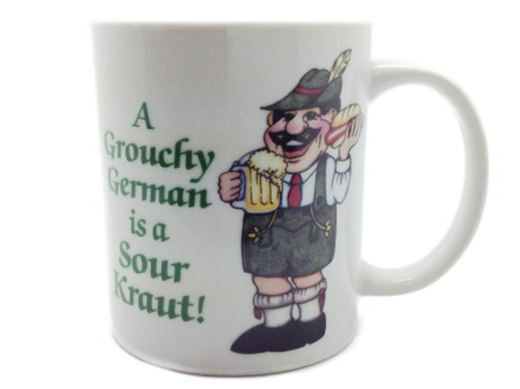 Picture of A Grouchy German...Mug