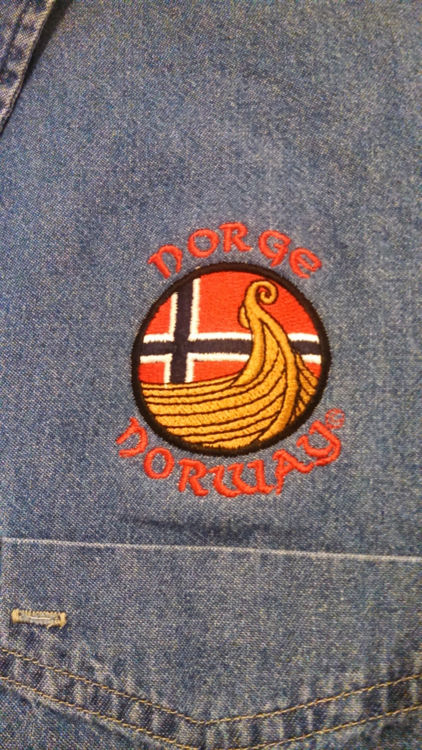 Picture of Norwegian Long Sleeve Denim Shirt