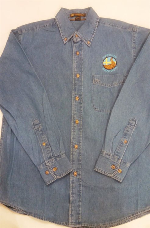 Picture of Swedish Long Sleeve Denim Shirt