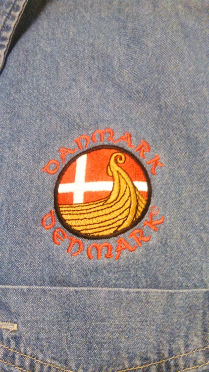 Picture of Danish Long Sleeve Denim Shirt
