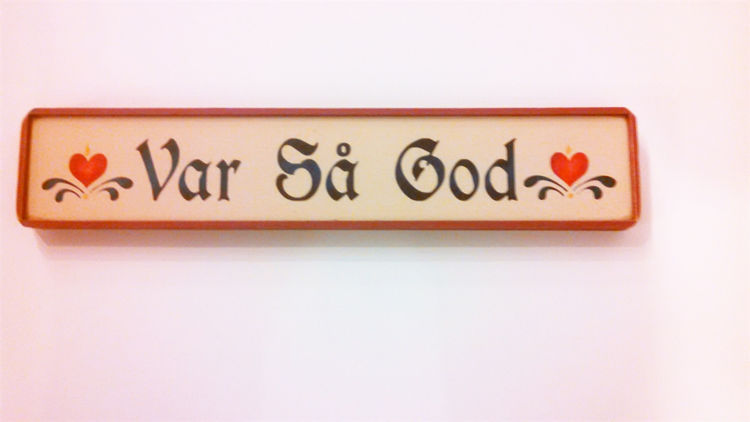 Picture of Wooden Sign, Var Sa God