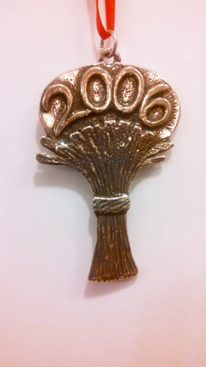 Picture of Norwegian 2006 Pewter Ornament