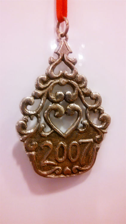 Picture of Norwegian 2007 Pewter Ornament