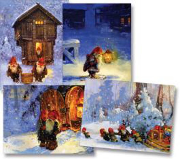 Picture of Svein Solem's Tomten Christmas Cards