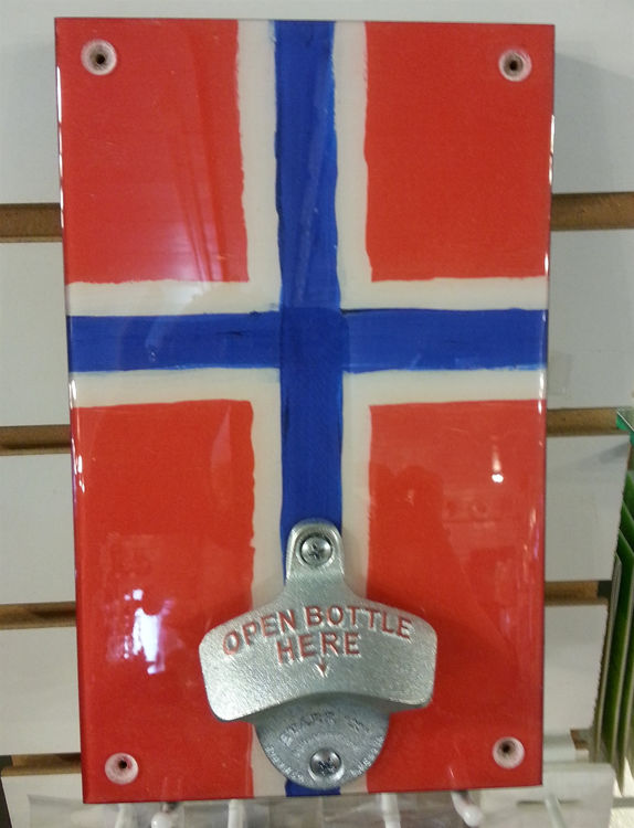 Picture of Ceramic Norwegian Bottle Opener