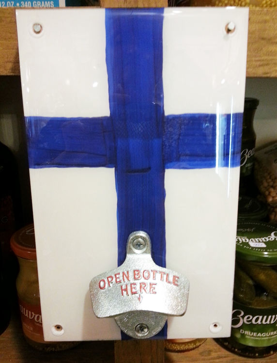 Picture of Ceramic Finnish Bottle Opener