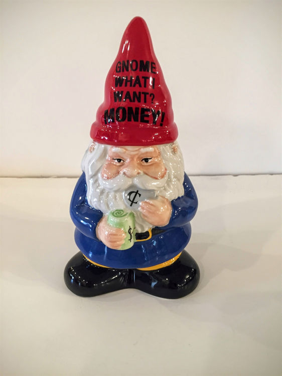 Picture of Ceramic Gnome Bank