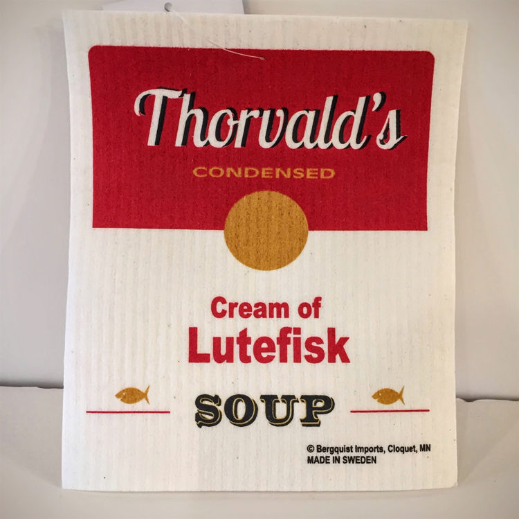 "Picture of  Swedish Dishcloth ""Lutefisk"""