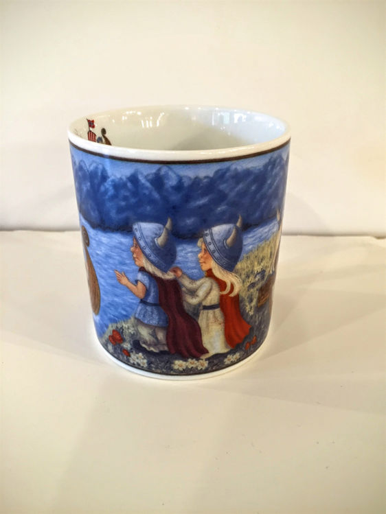 Picture of Viking Plate and Mug