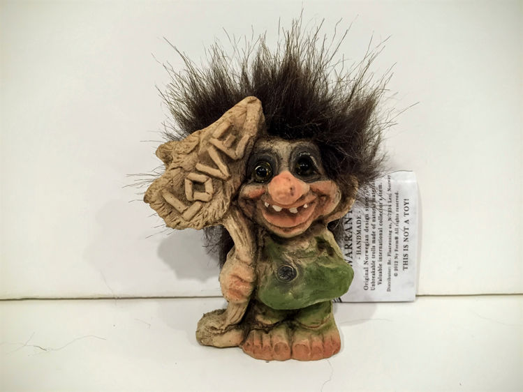 Picture of Nyform Troll w Love Sign