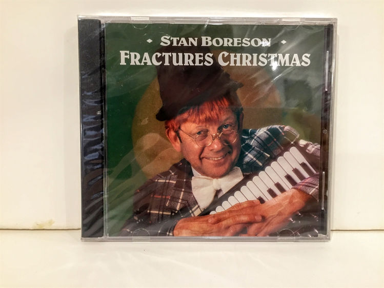 Picture of Fractures Christmas CD