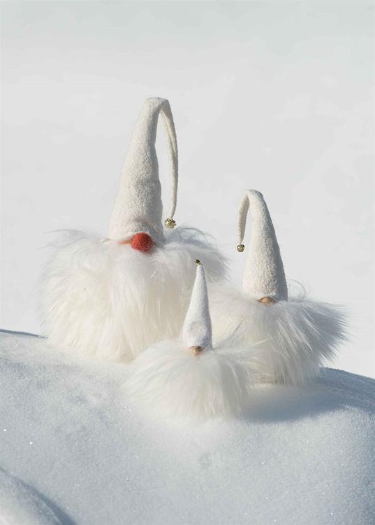 Picture of White Finnish Tonttu