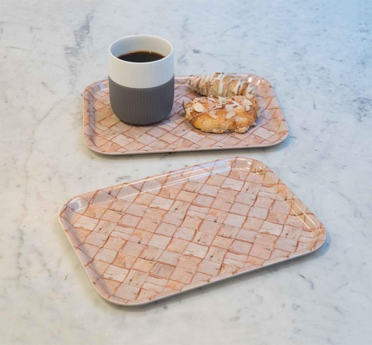 Picture of Swedish Laminated Birch Fika trays