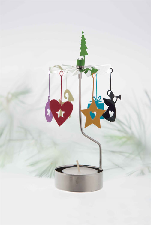 Picture of Pluto Christmas Rotary Candle Holder