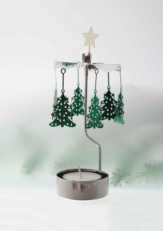 Picture of Pluto Christmas Tree Rotary Candle Holder