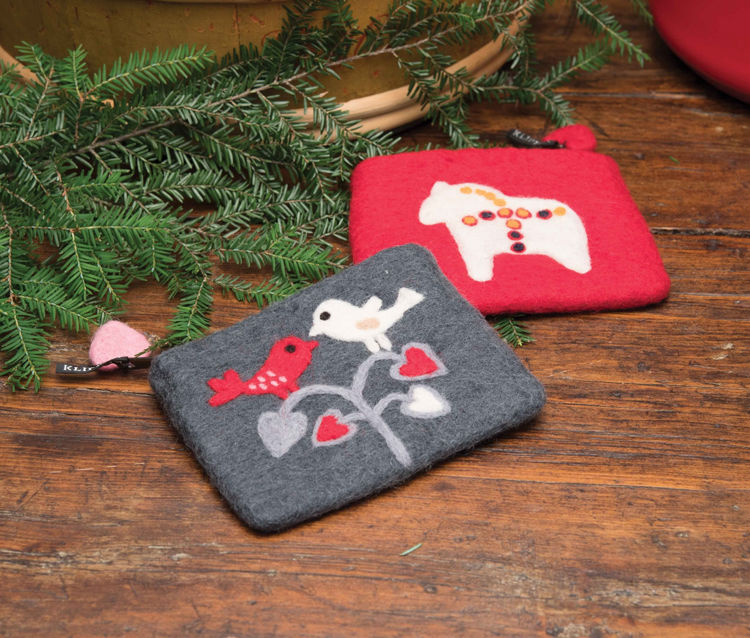 Picture of Felt Coin Purses
