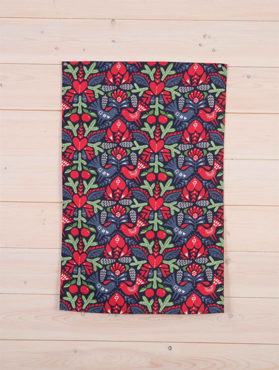 Picture of Pine Cone Kitchen Towel