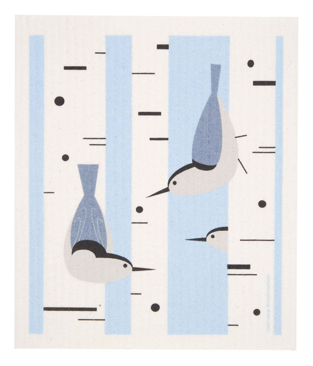 Picture of Swedish Nuthatch Dishcloth