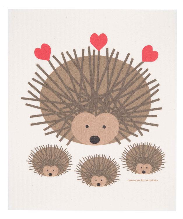 "Picture of Swedish Dishcloth ""Hedgehog"""