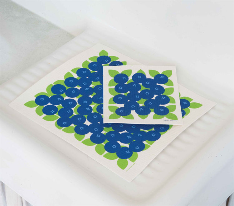 Picture of Swedish Drying Mat, Blueberry