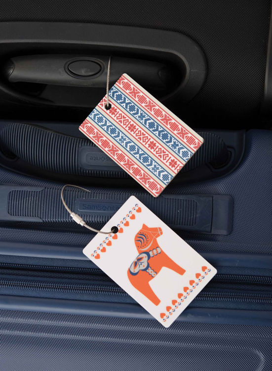 Picture of Swedish Birchwood Luggage Tags