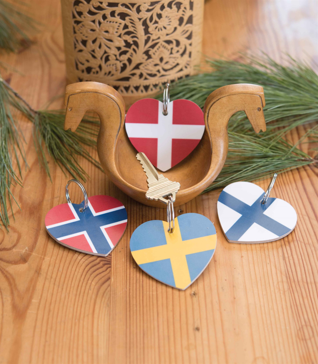 Picture of Flag Key Rings