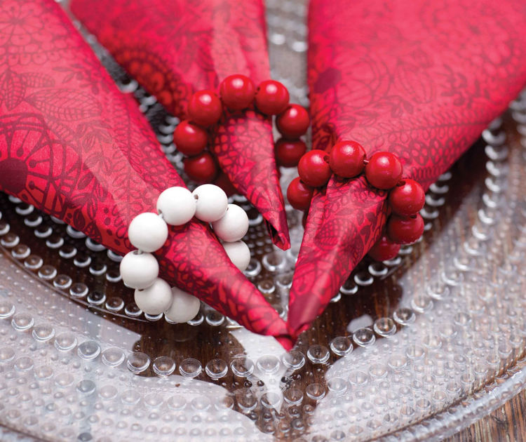 Picture of Bead Candle Rings