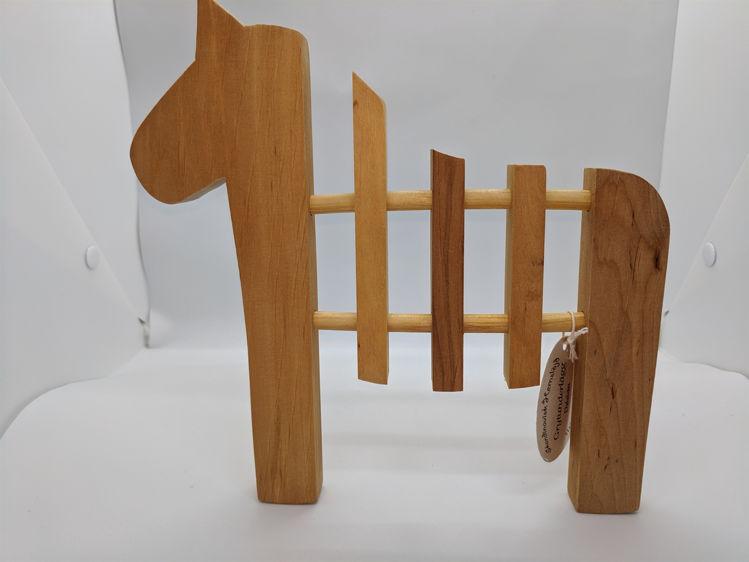 Picture of Wood Dala Horse Trivet