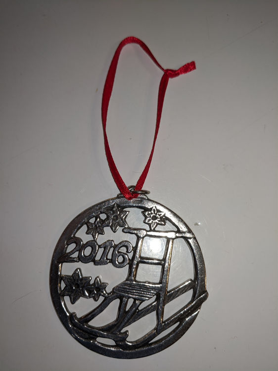 Picture of Norwegian Pewter Ornament, 2016