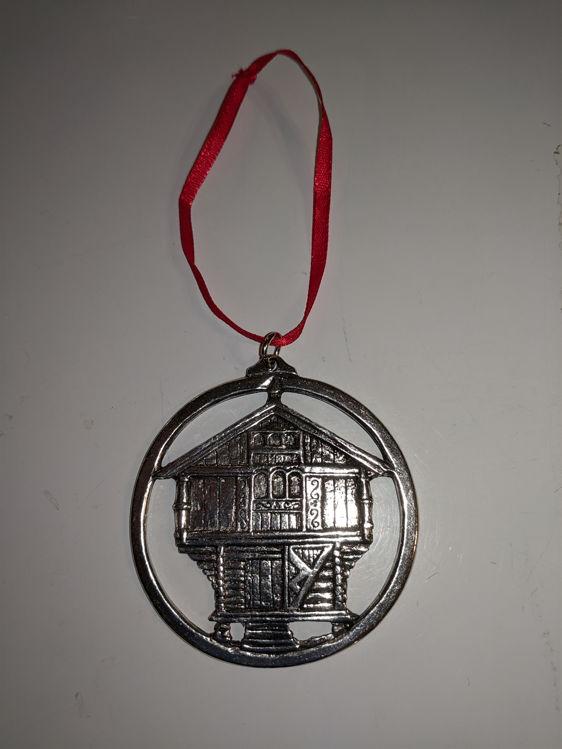 Picture of Norwegian Pewter Ornament, Stabbur