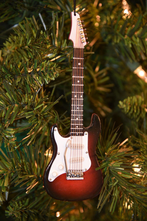 Picture of Electric Guitar Brown