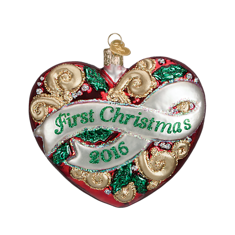 Picture of First Christmas Heart