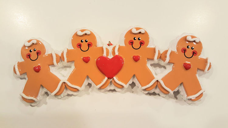 Picture of Gingerbread Family (2 kids)