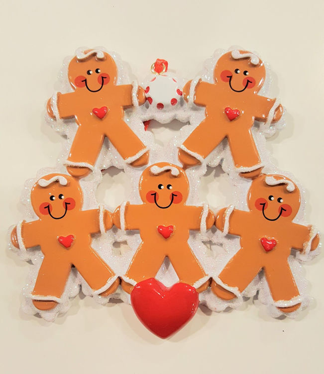 Picture of Gingerbread Family (3 kids)
