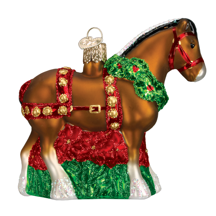 Picture of Holiday Clydesdale