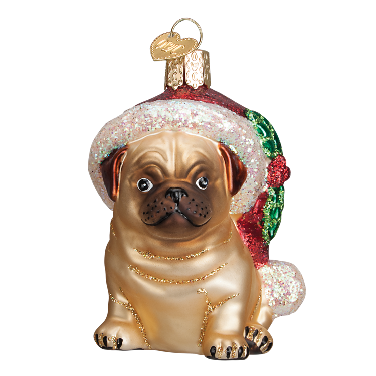 Picture of Holly Hat Pug