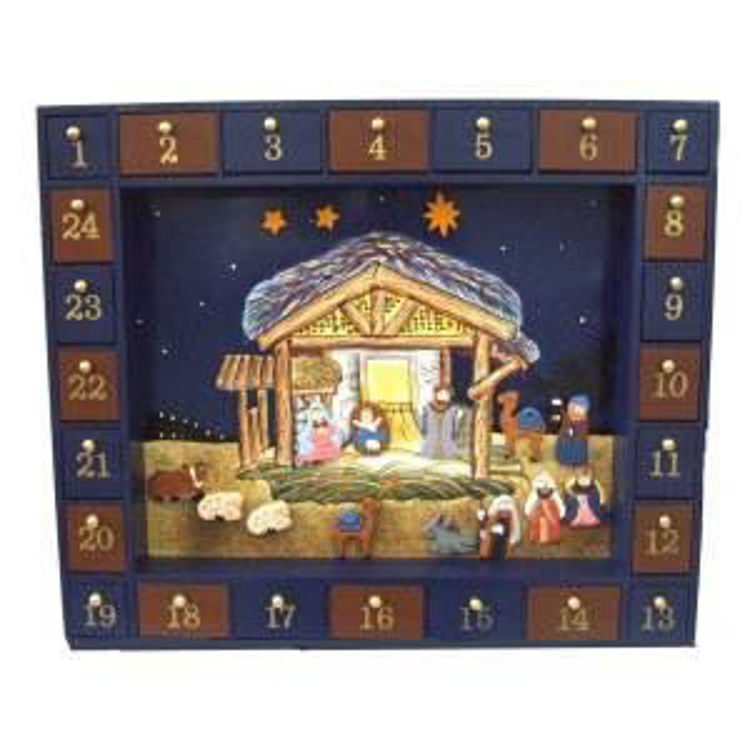 Picture of Magnetic Nativity Advent