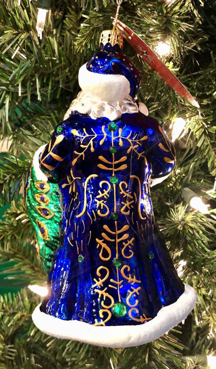 Picture of Princely Peacock Santa