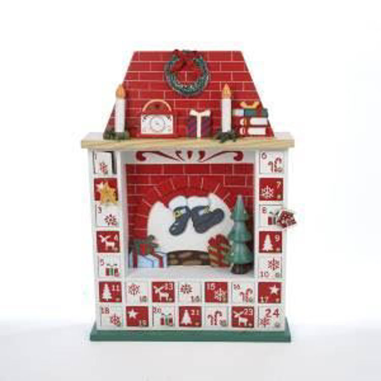 Picture of Wooden Chimney with Ornaments