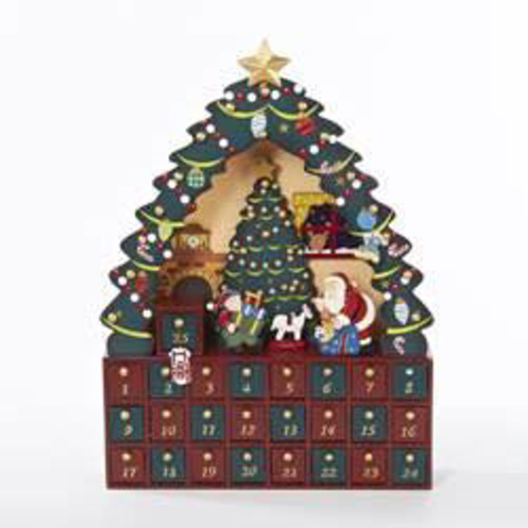Picture of Wooden Christmas Tree