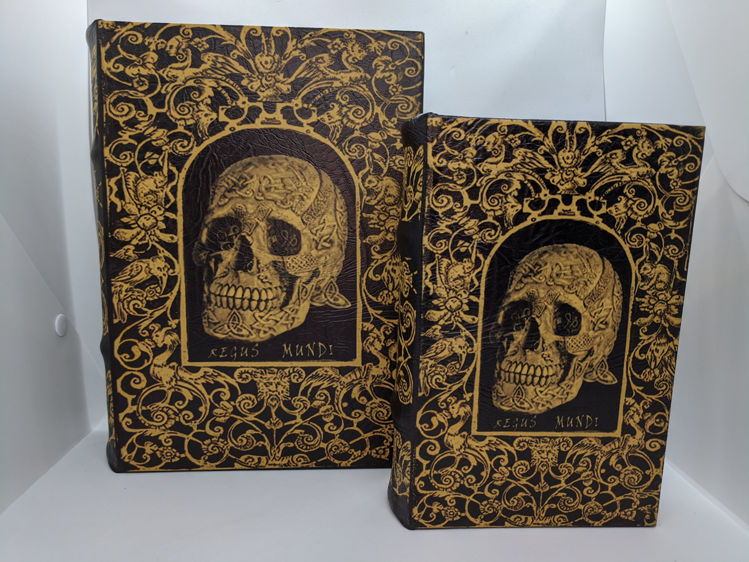 Picture of Polish Box, Skull Book, Large & Small