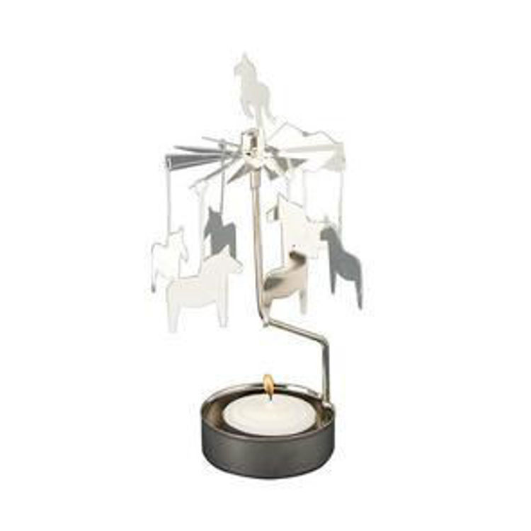 Picture of Pluto Dala Horse Rotary Candle Holder