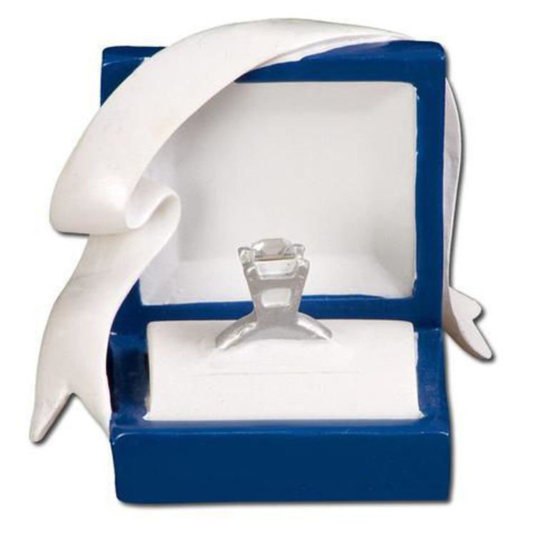 Picture of Engagement Ring in Box