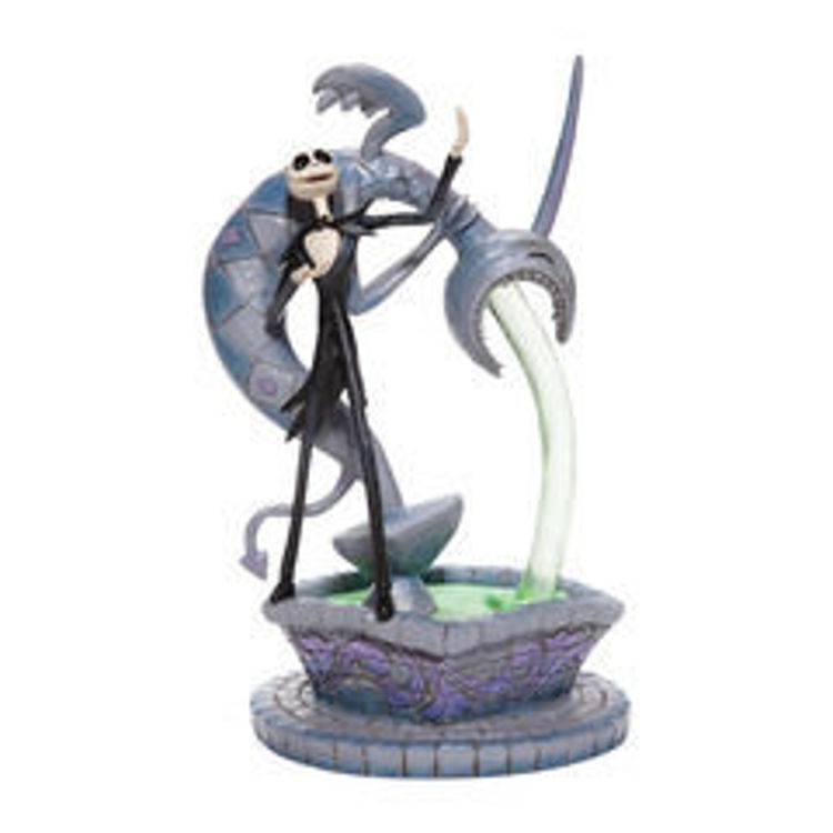 Picture of Jack Skellington on Fountain