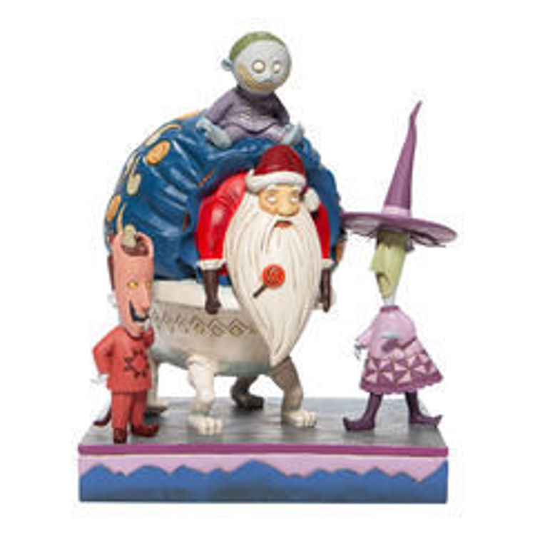 Picture of Lock, Shock and Barrel with Santa