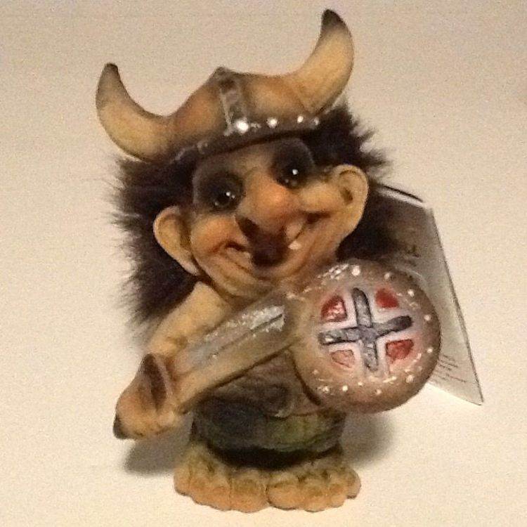Picture of Nyform Troll, Viking with Sword & Shield.