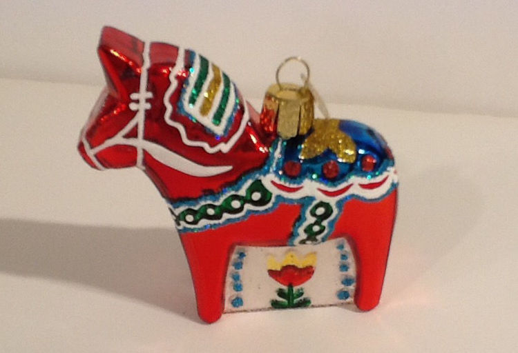 Picture of Old World Glass Dala Ornament
