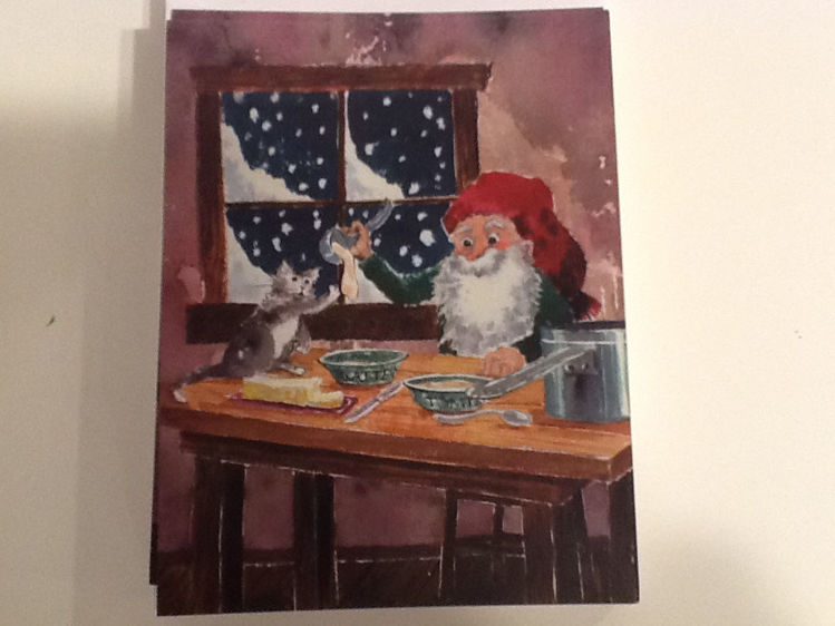 Picture of Tomten Christmas Cards, 12 pack w/envelopes
